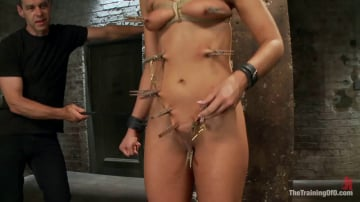 Adriana Chechik - The Training of a Model or a Slave. Day Two