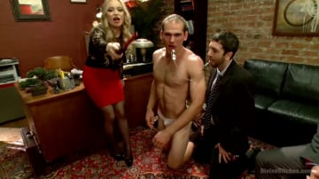 Aiden Starr - Corporate Scum CFNM Humiliation Take Over: Part 2