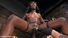 Ana Foxxx - Ana Foxxx is Machine Fucked, Flogged, Shocked And Made to CUM (Thumb 02)