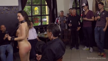 Anina Silk - Teen Exposed and Fucked in Public