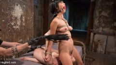 Anna De Ville - 2 Whores in Predicament Bondage, Tormented and Made to Lick Pussy (Thumb 05)