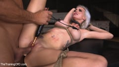 Astrid Star - Sex Slave Astrid Star Submits to Rope Bondage and Extreme Fucking! (Thumb 16)