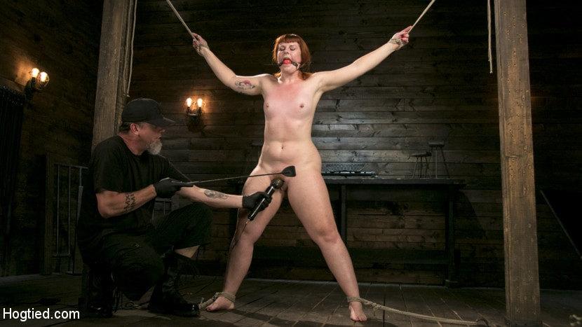 Kink 'Pain Slut in Extreme Bondage Suffers from Brutal Torment' starring Barbary Rose (photo 4)