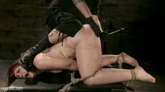 Barbary Rose - Pain Slut in Extreme Bondage Suffers from Brutal Torment (Thumb 02)