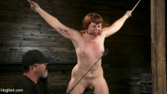 Barbary Rose - Pain Slut in Extreme Bondage Suffers from Brutal Torment (Thumb 14)