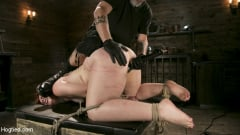 Barbary Rose - Pain Slut in Extreme Bondage Suffers from Brutal Torment (Thumb 15)