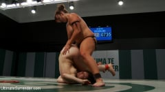 Bella Rossi - 16th vs 5th Bella and her huge natural boobs absolutely destroy the rookie, brutal submission holds (Thumb 07)