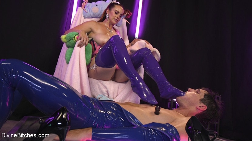 Kink 'Sweet Sadism: Plastic Princess Torments Her Toy' starring Bella Rossi (photo 6)