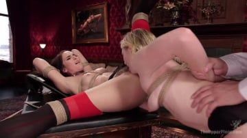 Bianca Breeze - Exquisite Anal Whore and Butler Punish the New Meat