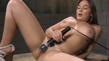 Blair Williams - All Natural Girl Next Door Gets Ass Fucked by the Machines