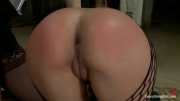 Bobbi Starr - Pretty Mexican Girl gets her Asshole Stuffed while being Dominated!