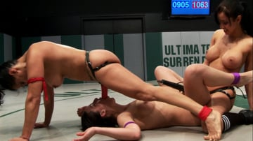 Bryn Blayne - RD 44 of Feb's Live Tag Team Match: Losers Sexually Destroyed, Fisted, and Strap-on Fucked