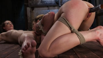 Casey Calvert - Casey and Dahlia Suffer Together in Brutal Bondage