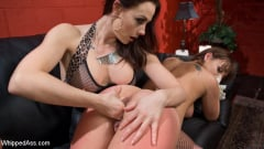 Chanel Preston - The Fan Girl: Lesbian slut bound, spanked, and strap-on fucked! (Thumb 04)