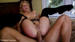 Cherie Deville - 19 year Old Slut Teaches Anal Fiance How to Serve Daddy (Thumb 09)