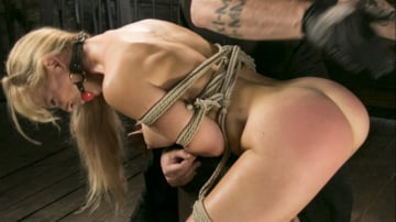 Cherie Deville - Buff MILF Cherie Deville Submits to Rope Bondage and Unwilling Orgasms