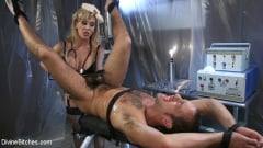 Cherie Deville - Nurse Cherie DeVille Inflicts Sadistic Medical Malpractice on DJ (Thumb 15)