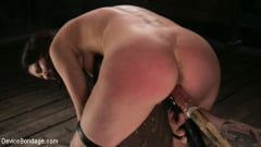 Cherry Torn - Female Slave Cherry Torn Tormented in Metal Bondage and Coerced Orgasm (Thumb 15)