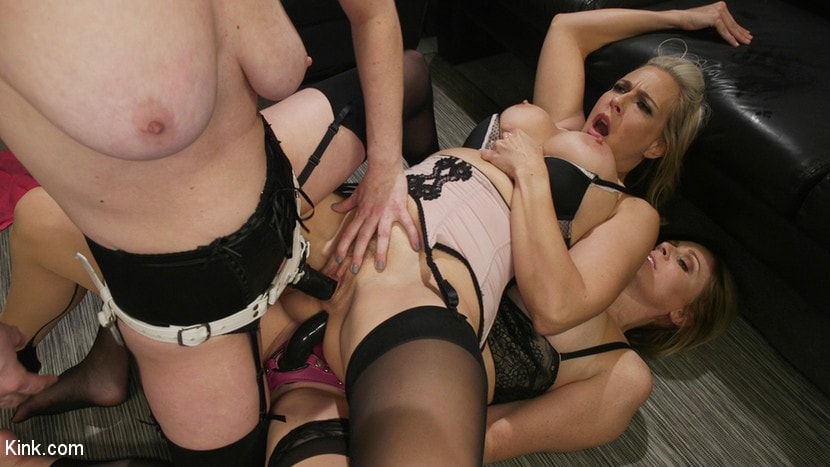Kink 'HUSH Ep8: Angel Allwood Gets DP'd By Cherry Torn and Julia Ann' starring Cherry Torn (photo 17)
