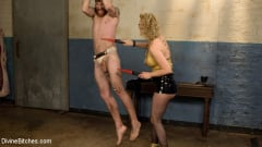 Cherry Torn - Pretty boy slave humiliated and pegged by Mistress Cherry Torn! (Thumb 04)
