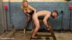 Cherry Torn - Pretty boy slave humiliated and pegged by Mistress Cherry Torn! (Thumb 08)