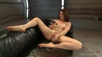CiCi Rhodes - Cici shows us the power of her orgasms from ass and pussy FuckingMachines