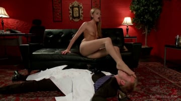 Cliff Adams - Calendar Girl: Trampling and Squirting