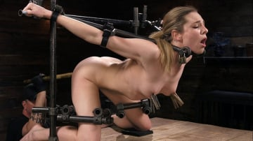 Dahlia Sky - Blonde Damsel is Distressed in Brutal Devices and Tormented