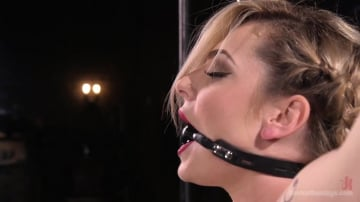 Dahlia Sky - Sexy Blonde Whore is Brutalized in Grueling Bondage