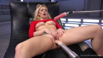 Dahlia Sky - Stunning Blonde Babe Gets Fucked Into Oblivion