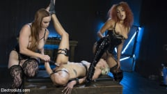 Daisy Ducati - Hot Electro Sex Toy: Lesbian Slut Bound, Shocked, and Fucked! (Thumb 14)