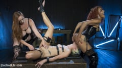 Daisy Ducati - Hot Electro Sex Toy: Lesbian Slut Bound, Shocked, and Fucked! (Thumb 15)