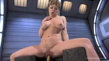 Darling - Darling is Machine Fucked in Her Pussy and Ass with Squirting Orgasms!