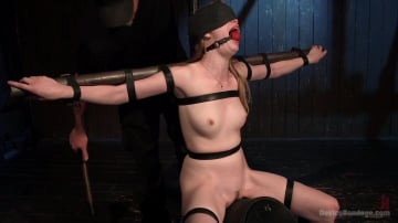 Dolly Leigh - Fair Skinned First Timer Begs for Extreme Domination!!