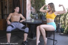 Donny Sins - Ella Nova Fucked by Stepbrother and His Friends (Thumb 05)