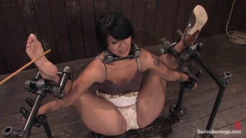 DragonLily - DragonLily Hard foot caning, harder orgasms.