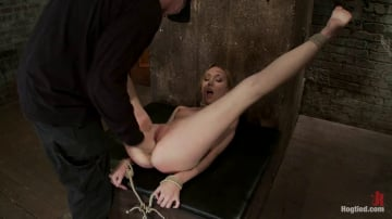 Emma Haize - March's Live Show 23 Tickled, flogged, foot caned, banged, squirting and vibrated to brutal orgasm