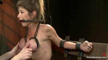Felony - Extreme immobilization! Felony is at the mercy of two fierce Doms.