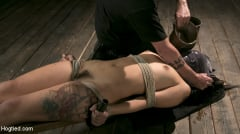 Gina Valentina - Tiny Sexual Plaything Gina Valentina Tied and Fucked in Rope Bondage! (Thumb 19)