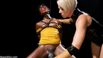 Helena Locke - One Tough Slut: Helena Locke pushes Ana Foxxx to the edge!