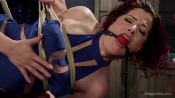 Ingrid Mouth - Property of Mistress Kara: Ingrid Mouth bound, beat and anally pounded!