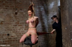 Iona Grace - Big Titted Slut Iona Grace Suspended and Tormented on HogTied.com (Thumb 04)