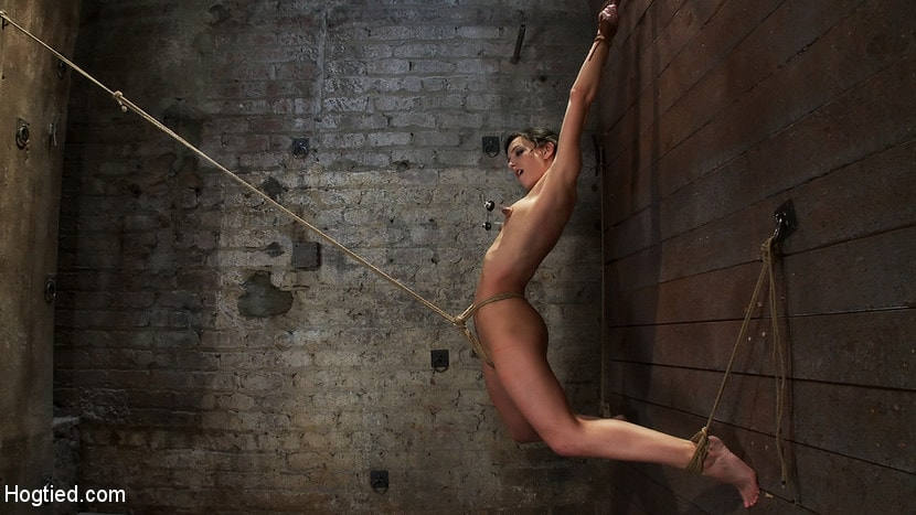 Kink 'Brutalize her with a massive dose of tickling. Boy does she hate every second! C5 suspension' starring Isis Love (photo 6)