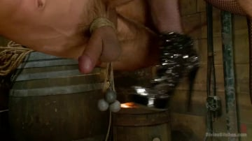 Mona Wales - Bitch Boy in a Barn: Lifestyle Dominatrix Abuses and Fucks Slave Boy