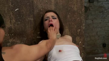 Juliette March - Predicament bondage as Juliette body is abused with pain and pleasure! Multi-orgasms, pussy torture!
