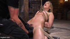 Kristen Scott - Girl Next Door in Brutal Predicament Bondage with Screaming Orgasms (Thumb 04)