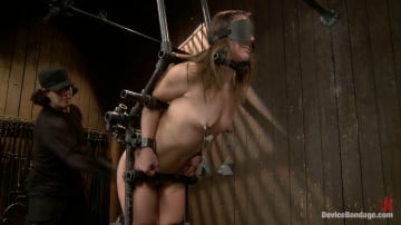 Kristina Rose - Kristina Rose Captured and fucked in extreme bondage positions