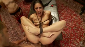 Kristine Kahill - Anal Punishment and Demotion of a House Slave