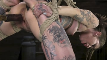 Krysta Kaos - Alt Dream Girl Krysta Kaos Abused and Fucked in Extreme Rope Bondage!!
