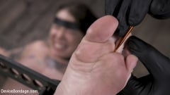 Krysta Kaos - Pain Slut Krysta Kaos Devastated in Metal Bondage (Thumb 11)